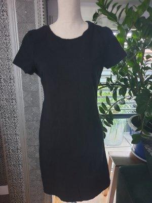 Old Navy Vestido de manga corta negro