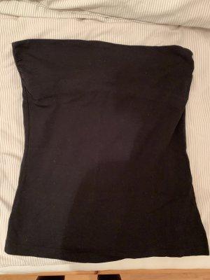 Schwarzes simples Bandeau Shirt! Klassiker!
