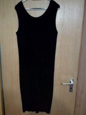 Schwarzes Slinky Kleid