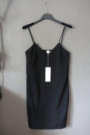 ARKET Pinafore dress black silk