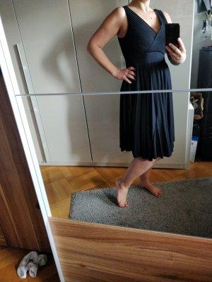 Ann Taylor Sukienka z krótkim rękawem czarny