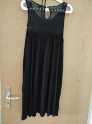schwarzes Sommerkleid Größe 46/ 48