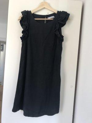 Schwarzes Sommerkleid Mango