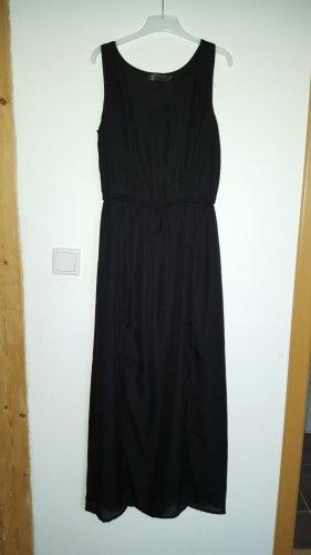 Schwarzes Sommerkleid - Maxikleid