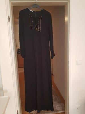 schwarzes Sommerkleid mit steinchen