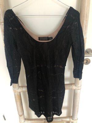 Lace Dress black-nude