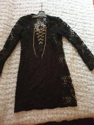 Michael Kors Vestido de encaje negro