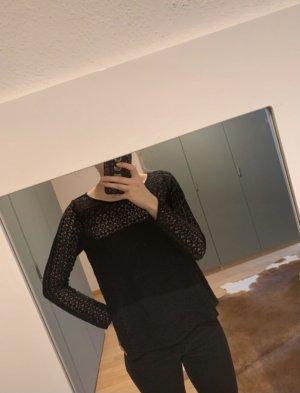 Hollister Lace Blouse black