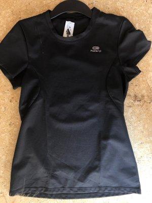 Schwarzes Sportshirt