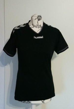 Schwarzes Sportshirt Hummel M