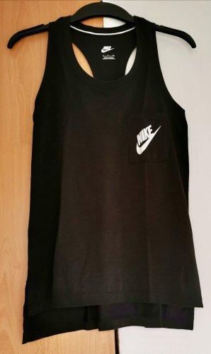Schwarzes Sporttop Nike