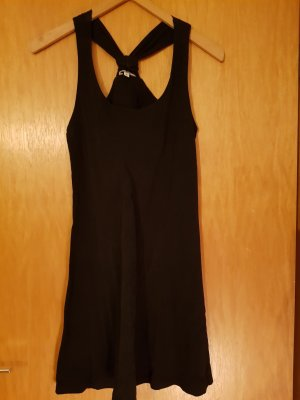Schwarzes Strandkleid