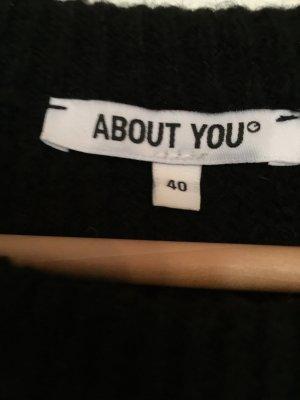 About You Robe en maille tricotées noir