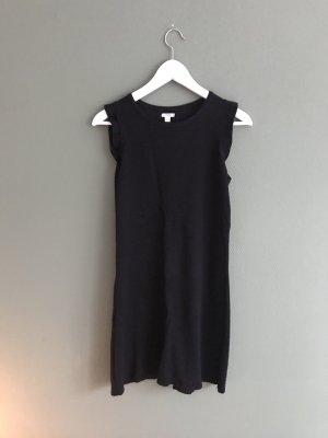 Schwarzes strickkleid aus Italien, Gr. M