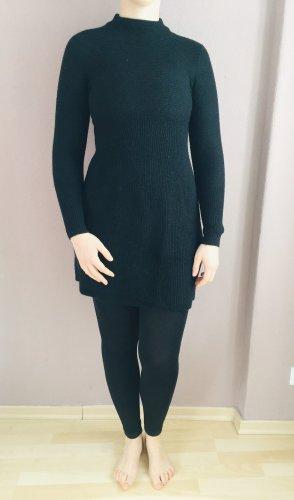United Colors of Benetton Robe en laine noir laine