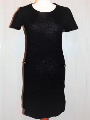 Schwarzes Strickkleid von Chillytime in Größe 36 NEU