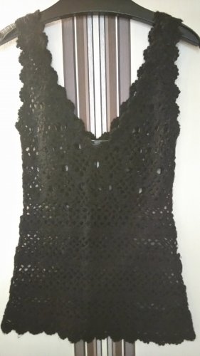 Mango Knitted Top black