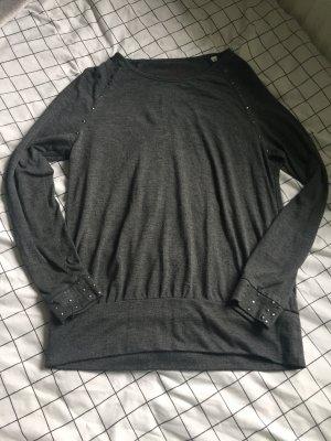 Schwarzes Sweat-Shirt