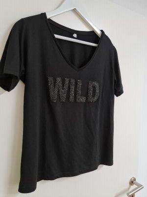 Schwarzes t shirt