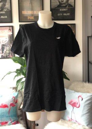 Schwarzes T-Shirt Hollister L