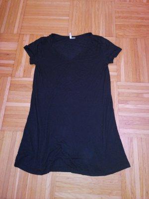Schwarzes T-Shirt Kleid