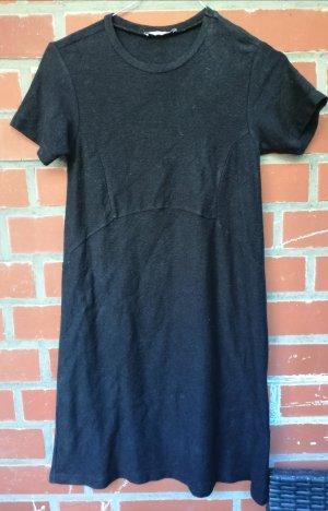 Schwarzes T Shirt Kleid von Zara