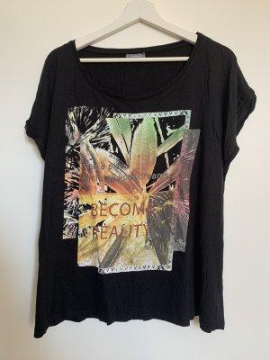 C&A Yessica Print Shirt black