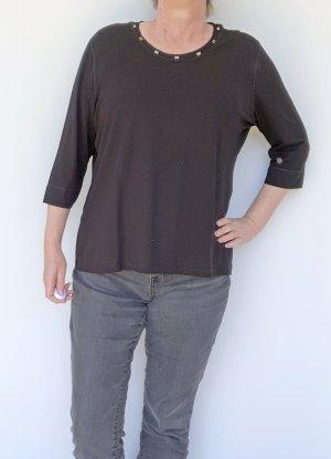 Basler T-shirt zwart Viscose