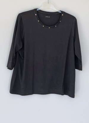 Basler T-Shirt black viscose
