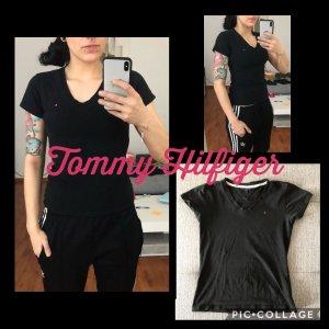 Schwarzes T-Shirt Tommy Hilfiger S