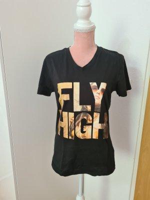 Adidas NEO T-shirt czarny-żółty