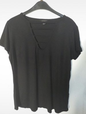 Amisu Shirt basique noir
