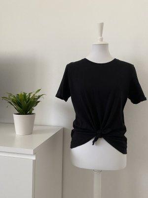 Bershka Basic topje zwart