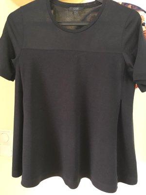 Schwarzes T-Shirt von Cos, Gr. S