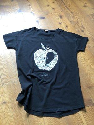 Schwarzes T-Shirt von Esprit
