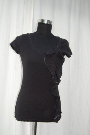 schwarzes T-shirt von Gap, Größe XS