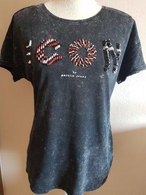 Schwarzes T-Shirt von Garcia Jeans