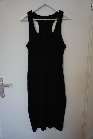 schwarzes T-Shirtkleid