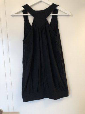 Only Flounce Top black