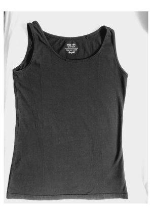 H&M Top na ramiączkach czarny