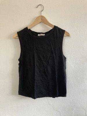 Zara Top línea A negro