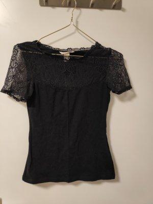 H&M Top di merletto nero