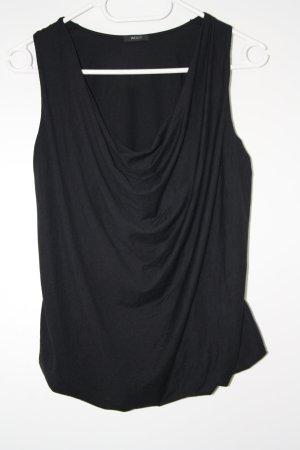 no name Off-The-Shoulder Top black cotton