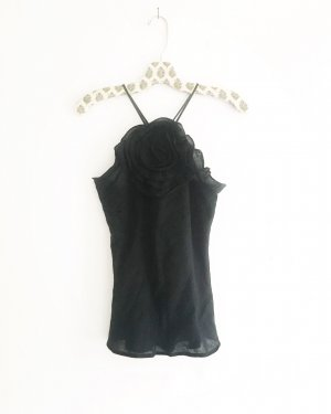 Vintage Backless Top black