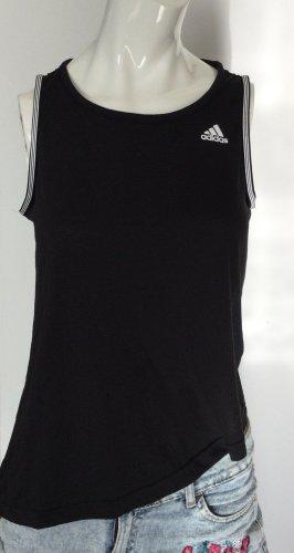 Schwarzes Top von Adidas Gr S