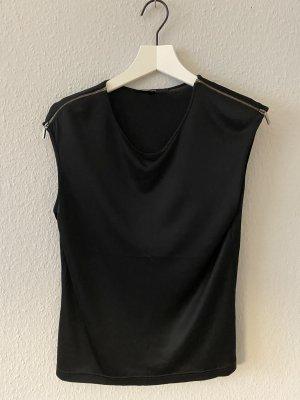 Gucci Chemisier noir-argenté viscose