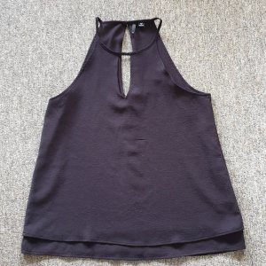Only A Line Top black polyester