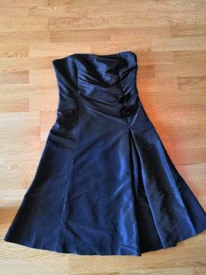 schwarzes, trägerloses Bustier-Kleid von MEXX