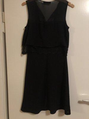Schwarzes Trussadi Kleid Gr.36