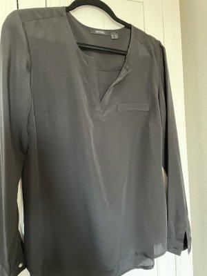 Schwarzes Tül Hemd